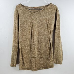 Prana V-neck Long Sleeve Shirt